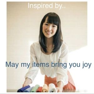 Inspired to get organized by Marie Kondo
